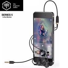 TFZ SERIES 5 HIFI Wired Monitor In Ear Earphone Sport Earphone Bass DJ Subwoofer Customized Dynamic Earphone For Sports Earbuds
