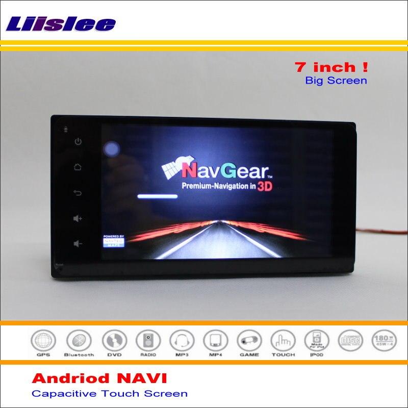 Liislee car Android GPS Navi sistema de navegación para Toyota ...