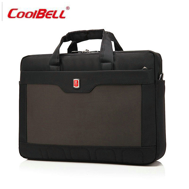 COOLBELL Men bag handbag business shoulder bag men briefcase messenger bag women nylon men's bags 14 inch laptop High quality-FF new high quality leather men laptop briefcase bag 14 inch computer bags handbag business bag fashion laptop handbag for men