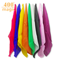 60*60cm Silk Scarf Magic Tricks Learning & education Magic silk close up magic prop Professional Magician Accessories 400magic