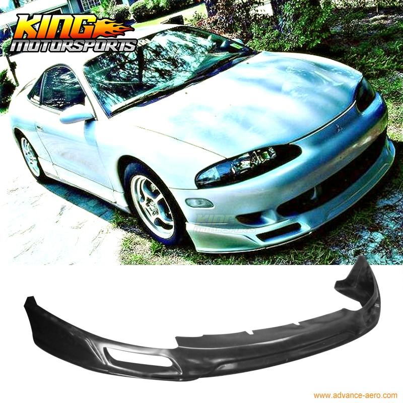 JDM Sport Style Front Bumper Lip Spoiler Urethane For 95-96 Mitsubishi Eclipse недорго, оригинальная цена
