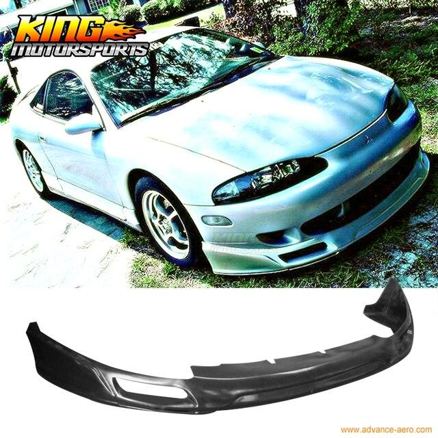 JDM Sport Style Front Bumper Lip Spoiler Urethane For 95 96 Mitsubishi  Eclipse