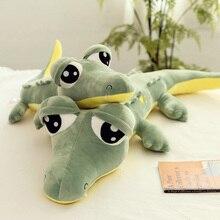 Good 2019 New  Cartoon Crocodile Plush Animals Stuffed Toys Soft Pillow Birthday Gifts for Children Lovers