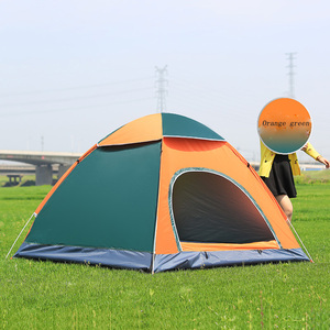 Image 3 - Tents Outdoor Camping Portable Waterproof Hiking Tent Anti UV 2/4Person Folding Pop Up Automatic Open Sun Shade Ultralight Tent