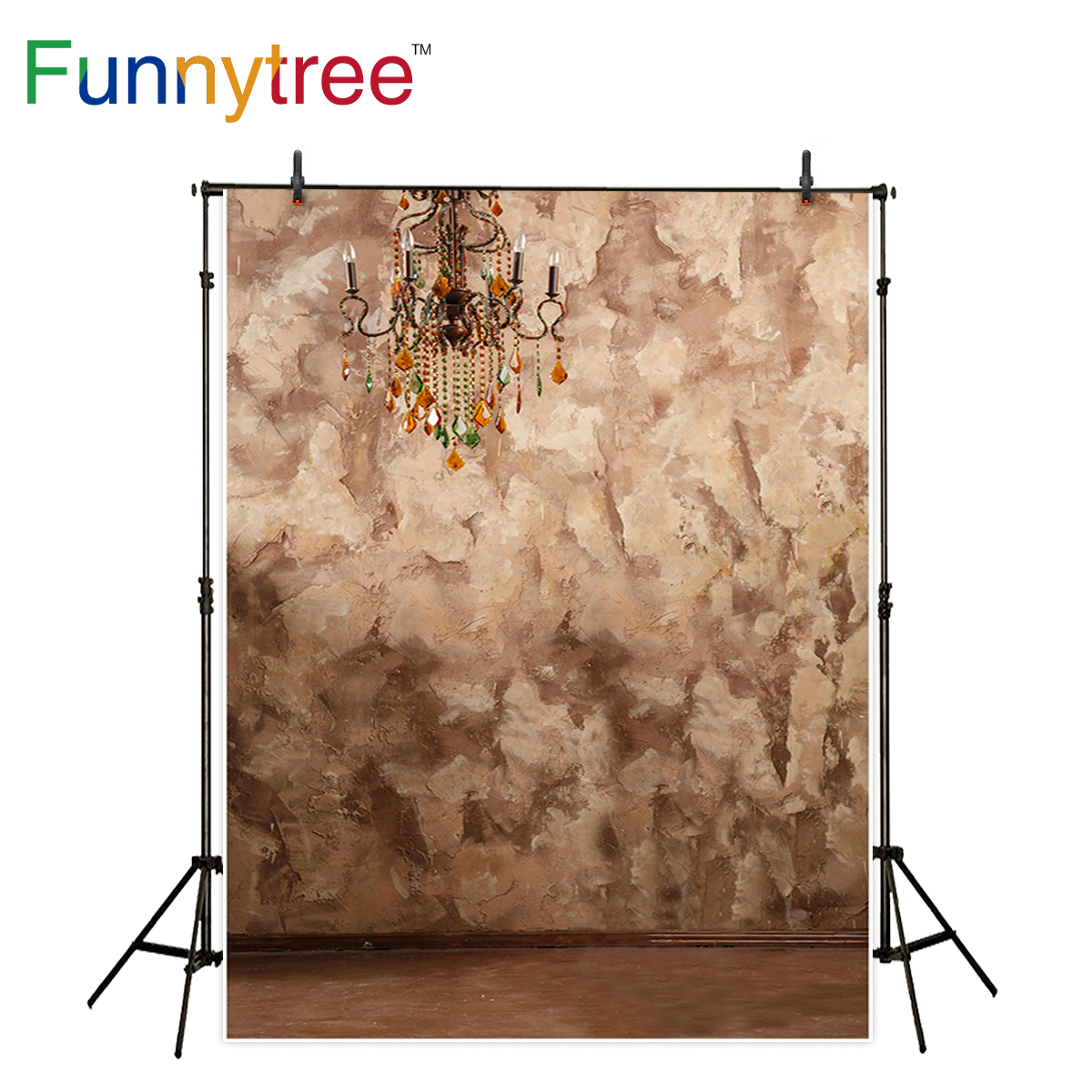 Funnytree photography background fuzzy abstract wall vinage pure color backdrop photobooth photo studio photo prop