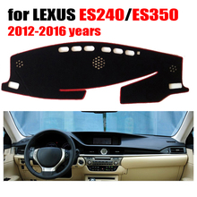Car dashboard cover mat For LEXUS new ES240 ES350 2012-2016 Left hand drive dashmat pad dash covers auto dashboard accessories