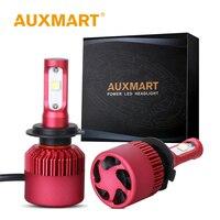 Auxmart Car LED Headlight Kit H4 H7 H11 H13 9005 HB3 9006 HB4 H1 COB LED