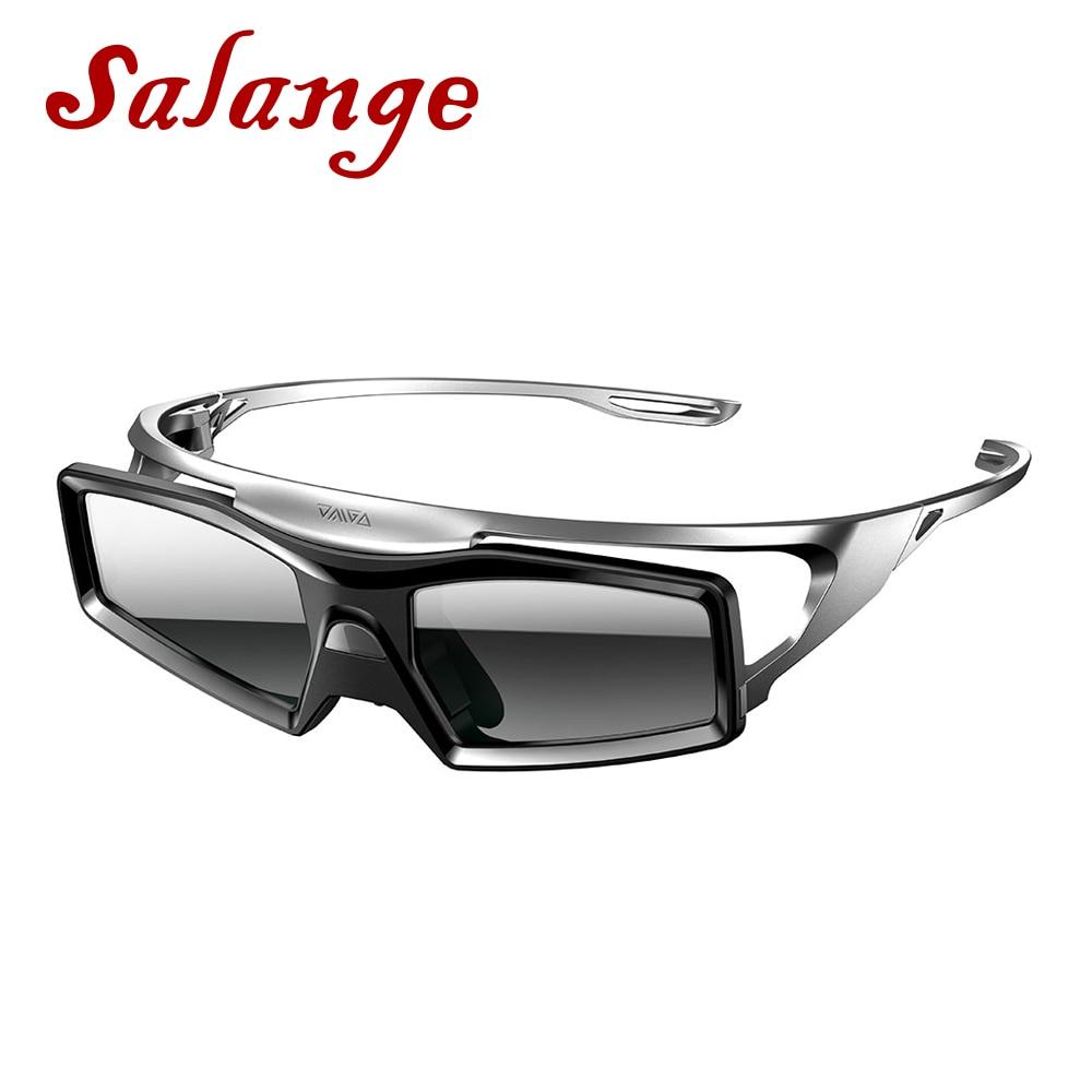 Óculos de Obturador ativo 3D Embutido Bateria De Lítio para LG Para A SONY Para Optoma Para Benq XGIMI H1 H2 JMGO J6S v8 Projetor Beamer