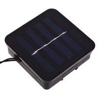 50 Led Solar Powered Flor de Loto Luz de la Secuencia para la Fiesta de Navidad Decoartion