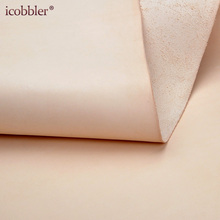 High Quality Cowhide Cow Leather Brown Genuine Leather Material DIY Cowhide Veg Tanned Leather (30x 30cm - 180cm) 2.0mm Thick