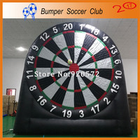 Free shipping&pump ! 3m/4m/5m/6m giant outdoor inflatable foot dart board /inflatable soccer darts games,inflatable foot darts