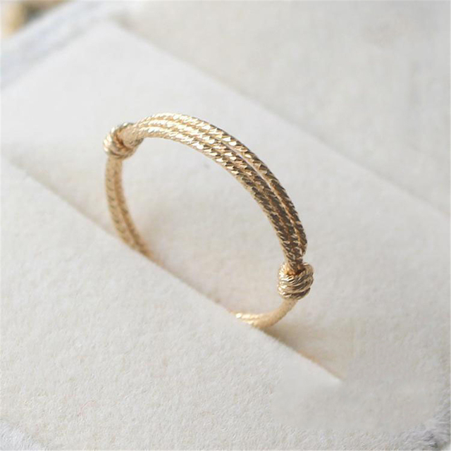 Handmade Knuckle Rings Custom 14 Gold Filled Personalized Joyas Birthday Gift Bague Anillos Mujer Bague Femme Rings for Women
