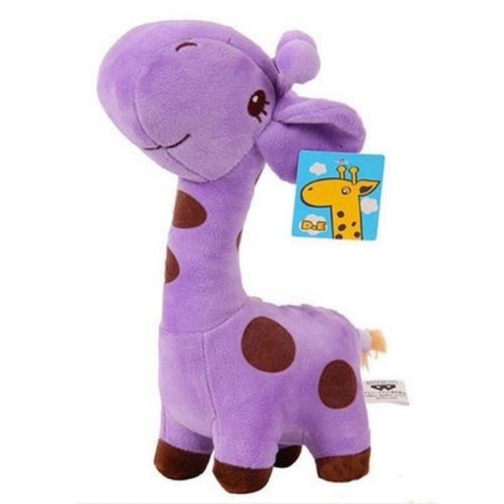 1pcs Plush Giraffe Soft decoration Toys Animal Dear Doll Baby Kids Children Birthday Gift