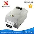 ARGOX OS-214 PLUS Высокого Разрешения Для Рабочего Термотрансферные Этикетки Штрих-Кода Принтер Стикер Ленты Принтера Поддержка 1D/2D/QR код