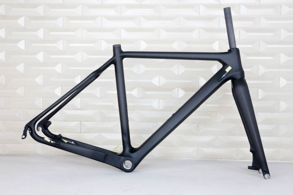 has stock  OEM products Disc-brake Carbon Cyclocross Bike Frame Newest ,UD 3K Cyclocross Frame Carbon CX frame china, OEM frame hot sale chinese cyclocross frame carbon cx frame di2 disc brake carbon cyclocross bike frame cx535