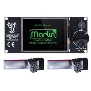 Image 3 - BIGTREETECH TFT24 V1.1 شاشة تعمل باللمس/مثل 12864 شاشة الكريستال السائل ثلاثية الأبعاد أجزاء الطابعة ل أندر 3 SKR V1.3 برو MINI E3 VS MKS TFT24 TFT35