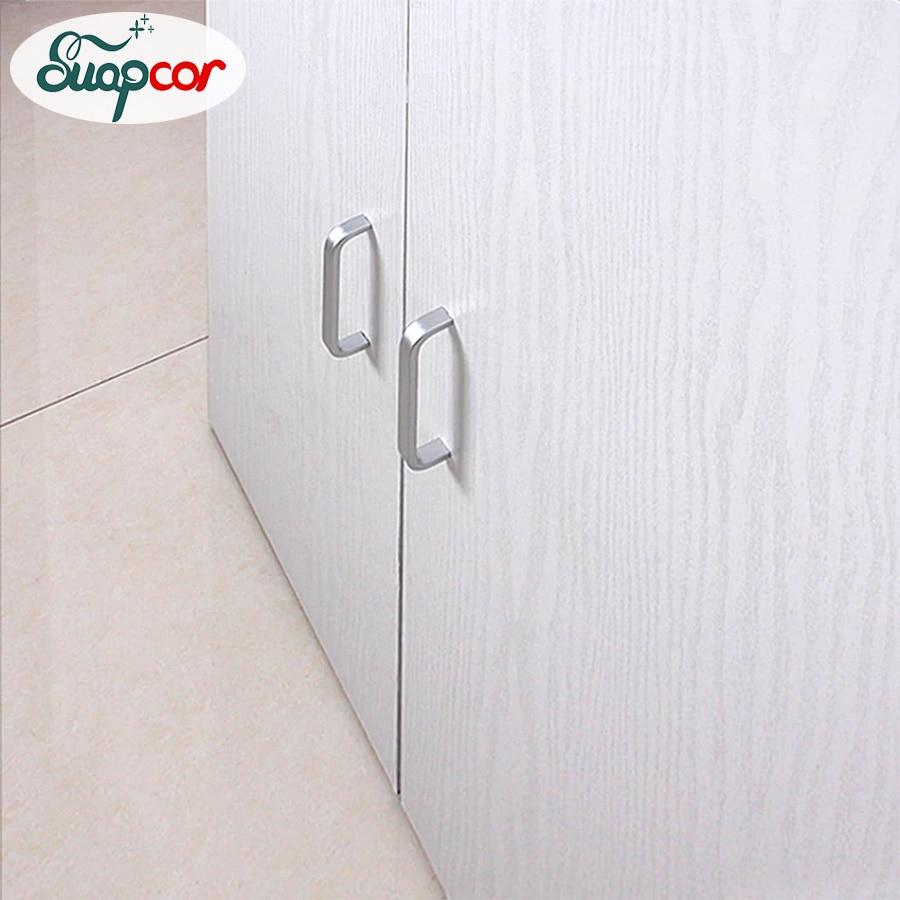 Wood Sticker Waterproof Wallpapers Rolls Self Adhesive Furniture Cabinets Desktop Renovation Stickers Door Decorative Wallpaper