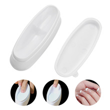 Nail Dip Powder Case French Manicure Tray Art Storage Box Container WH998