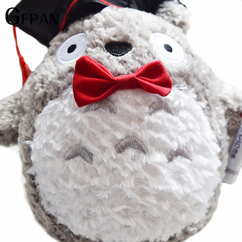 1pcs-20cm-plush-doctor-Dr-Totoro-learn-to-read-Totoro-Hat-plush-toy-doll-Graduation-Gift (2)