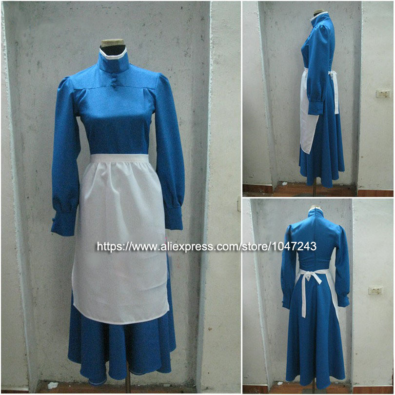 Howl s Moving Castle Sophie Dress Cosplay Costume Perfect Custom For You