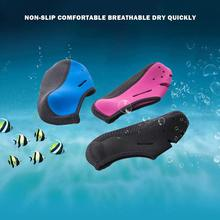 лучшая цена HobbyLane 1 Pair Anti-skid Water Shoes Slipper Quick-dry Barefoot Diving Socks Beach Snorkeling Swimming Surfing Socks Men Women