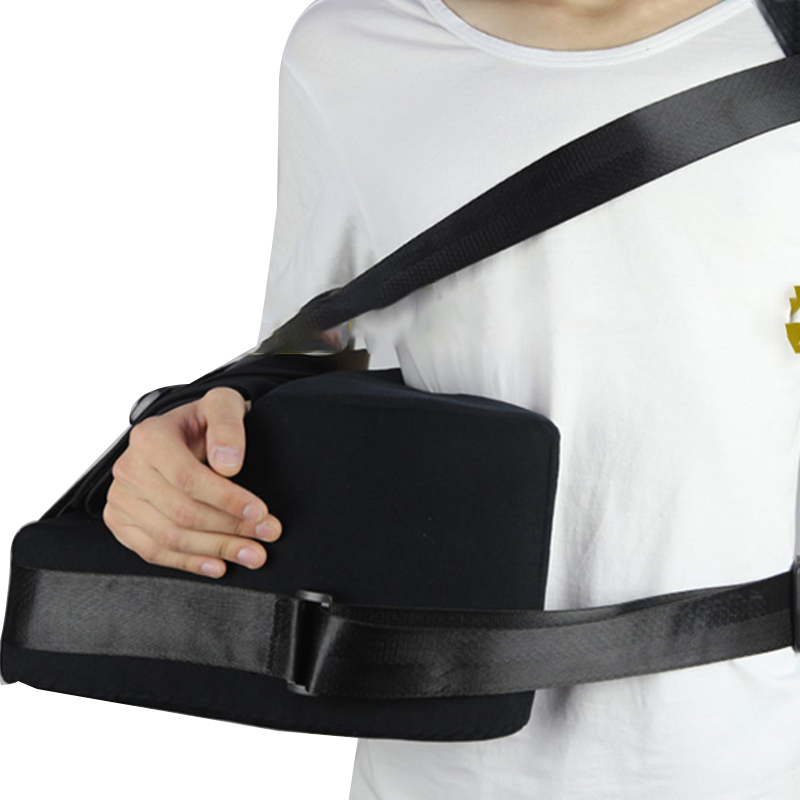 Arm Immobilize Shoulder Abduction Sling with Pillow for Shoulder Joint Dislocation Free Size Left/Right shoulder abduction orthosis suitable for shoulder joint surgery after fixation free of shipping