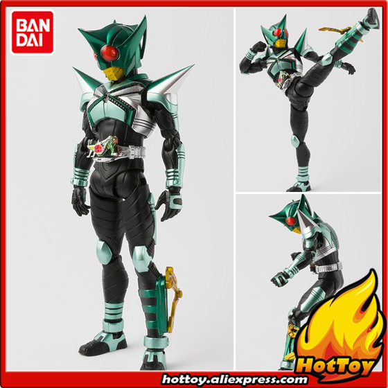 Original BANDAI Tamashii Nations S.H.Figuarts (SHF) Exclusive Action Figure - Masked Rider Kickhopper from Masked Rider Kabuto 100% original bandai tamashii nations s h figuarts shf exclusive action figure garo leon kokuin ver from garo