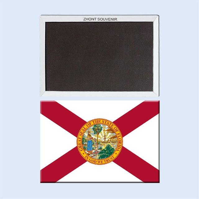 Home Decorateusa Symbolssunshine Stateflorida Flag Fridge Magnet