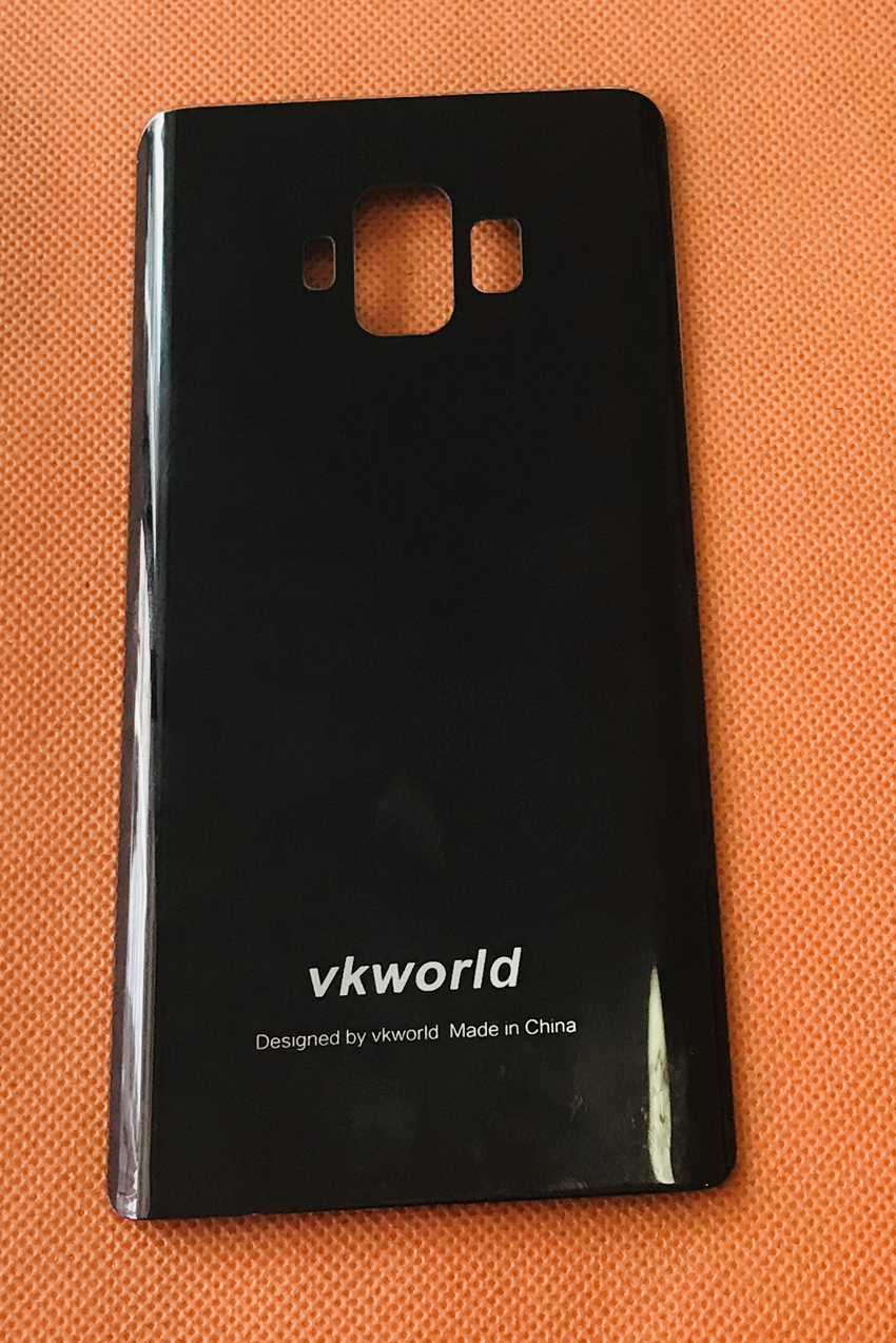 Used Original Protective Battery Case Cover for VKworld S8 MTK6750T Octa Core Free Shipping