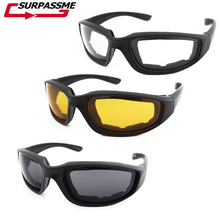 Outdoor Sports Motorcycle Goggles Windproof Army Polarized Sunglasses Cycling Men Bike Eyewear Protection Motocross