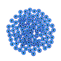 8mm /10mm /12mm Toy Doll Eyes Round Plastic Flatback Blue Doll Eyes For Toy Doll Making Craft Eyes