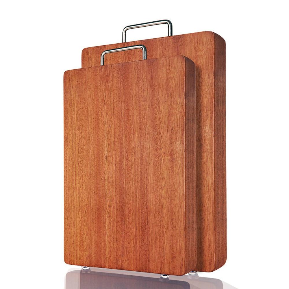 Blocs à découper en bois d'ébène planche à découper suspendue cuisine planche à découper 3 tailles