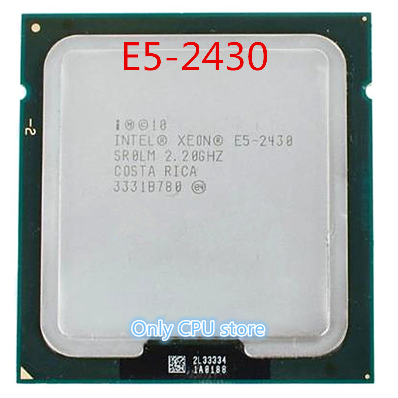 PROCESSEUR Intel Xeon E5 2430 SR0LM 2.20 GHz 6-Core 15 M LGA1356 processeur e5 2430 CPU