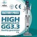 SF-2L Китай заводская цена для Jacketed стеклянная реакционная Емкость/стеклянные реакторы (система отопления опционально)