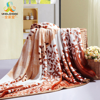 Home Textile Plaid Solid Air Sofa Bedding Throws Coral Flannel Blanket Winter Warm Soft Bedsheet 120