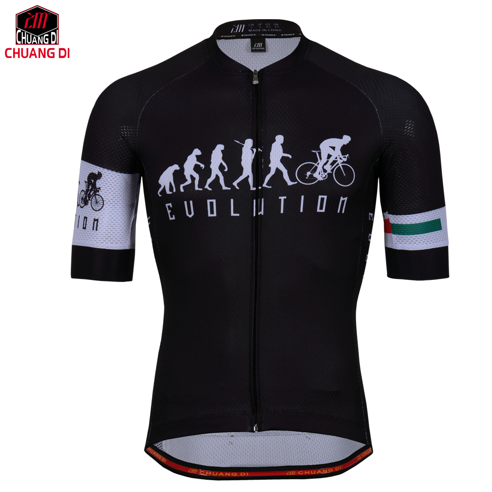 Cycling-Jersey Short-Sleeve Hot-Design Quick-Dry Summer Men Breathable Men's title=
