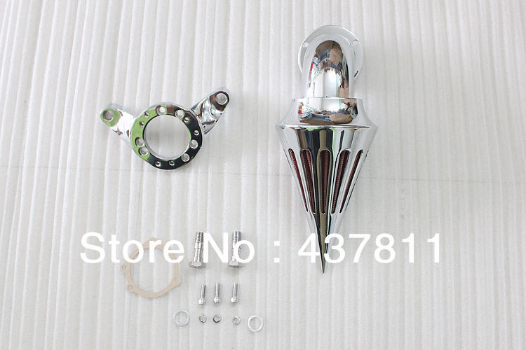 Eonstime Chrome Spike Air Cleaner Kits Intake Filter For Harley CV Carb Delphi V-Twin купить