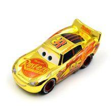 """Disney """"Тачки 3 гоночный освещение McQueen Meeker №36 металл литья под давлением игрушечный автомобиль 1:55 Свободные Фирменная Новинка игрушки для детей"""