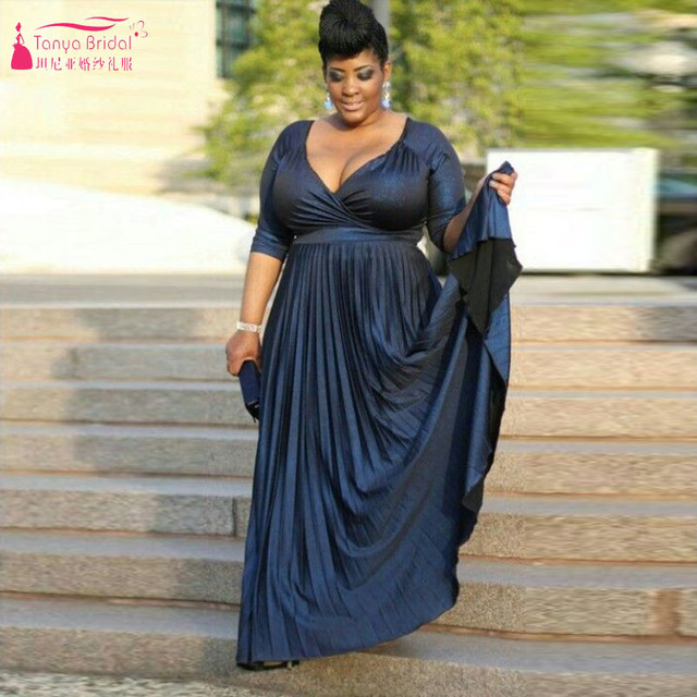 Plus Size Mother Of Bridal Dresses Mother Of The Groom Dress Wedding Mother  Dress Dark Navy