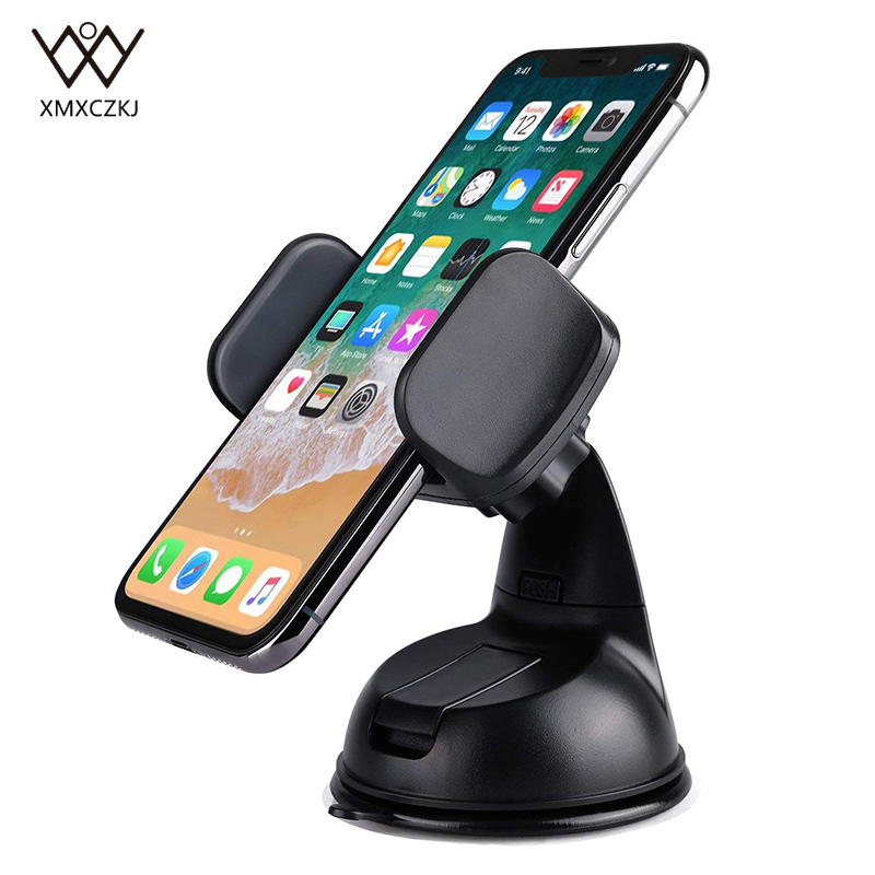 Phone Holder For Car Universal Silicone Sucker Cell Phone Car Mount Windshield Mobile Phone Holder Stand Suction Stick Dashboard