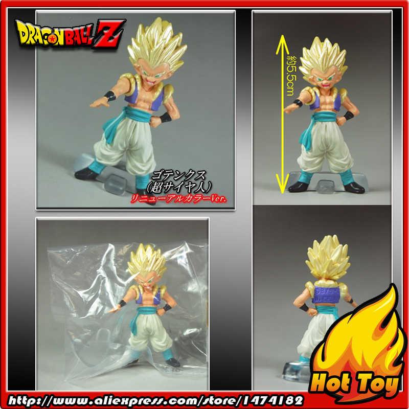"""100% original bandai gashapon pvc brinquedo figura hg sp parte 4-gotenks super saiyan do japão anime """"dragon ball z"""""""