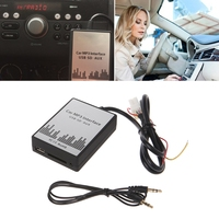 Free delivery USB SD AUX Car MP3 Music Adapter CD Changer Audio Adapter For Nissan Almera MaximaFX \ EX 4 + 8PIN Interface new