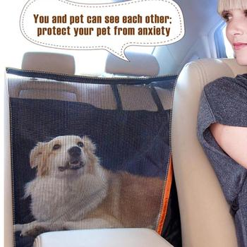 Stupendous Car Dog Backseat Cover Auto Rear Row Pad Seat Cover With Short Links Chair Design For Home Short Linksinfo