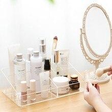 plastic container makeup storage perfume cosmetic organizer for cosmetics box na kosmetyki do szuflady