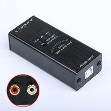 2017 Nouveau FX-Audio FX-01 USB DAC carte son audio décodeur taux d'échantillonnage affichage SA9023 PCM5102 24BIT 96 K