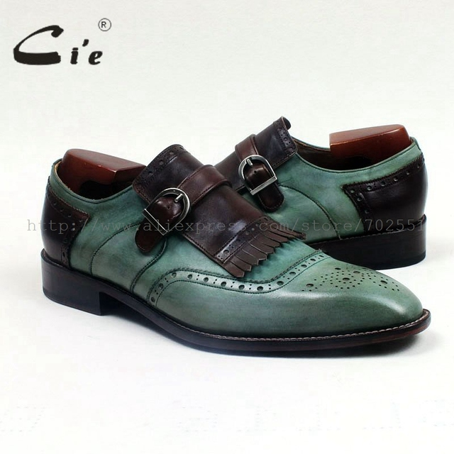 Ci'e – Handmade genuine calf leather men's casual tassel slip-on shoes.