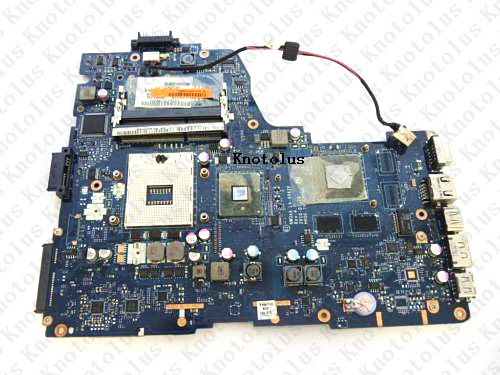 LA-6062P for Toshiba Satellite A665 laptop motherboard K000106370 DDR3 Free Shipping 100% test ok free shipping for toshiba satellite l640 l645 a000073390 notebook laptop motherboard 100