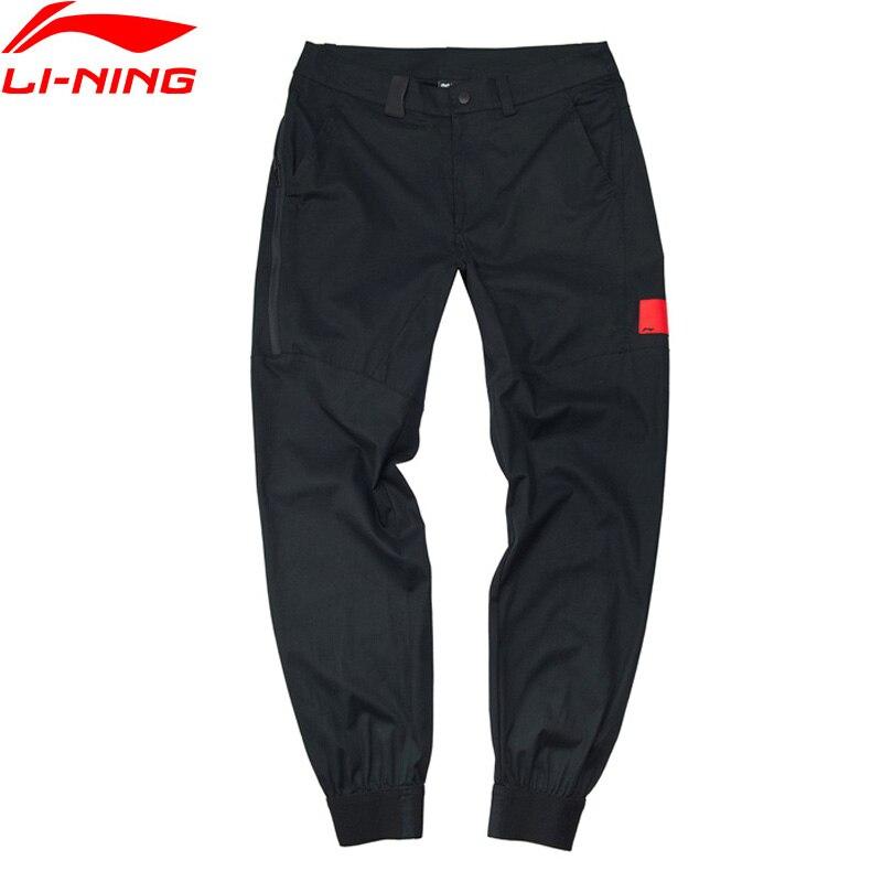 Li Ning Men BAD FIVE Basketball Series Pants 100 Cotton Regular Fit Comfort LiNing Sports Leisure