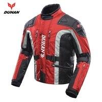 Бесплатная доставка, 1 шт. Духан Для Мужчин's осень зима ветрозащитный внедорожные Куртка Броня мотоцикл Костюмы мотоциклетная куртка с 5 шт.