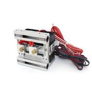 Funssor 24 В 40 Вт все металлические Mk10 двойной сопла экструдер для DIY 3D принтеры 1.75 мм нити